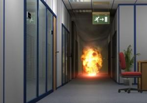 Fireproof vault