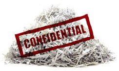 Confidential destruction