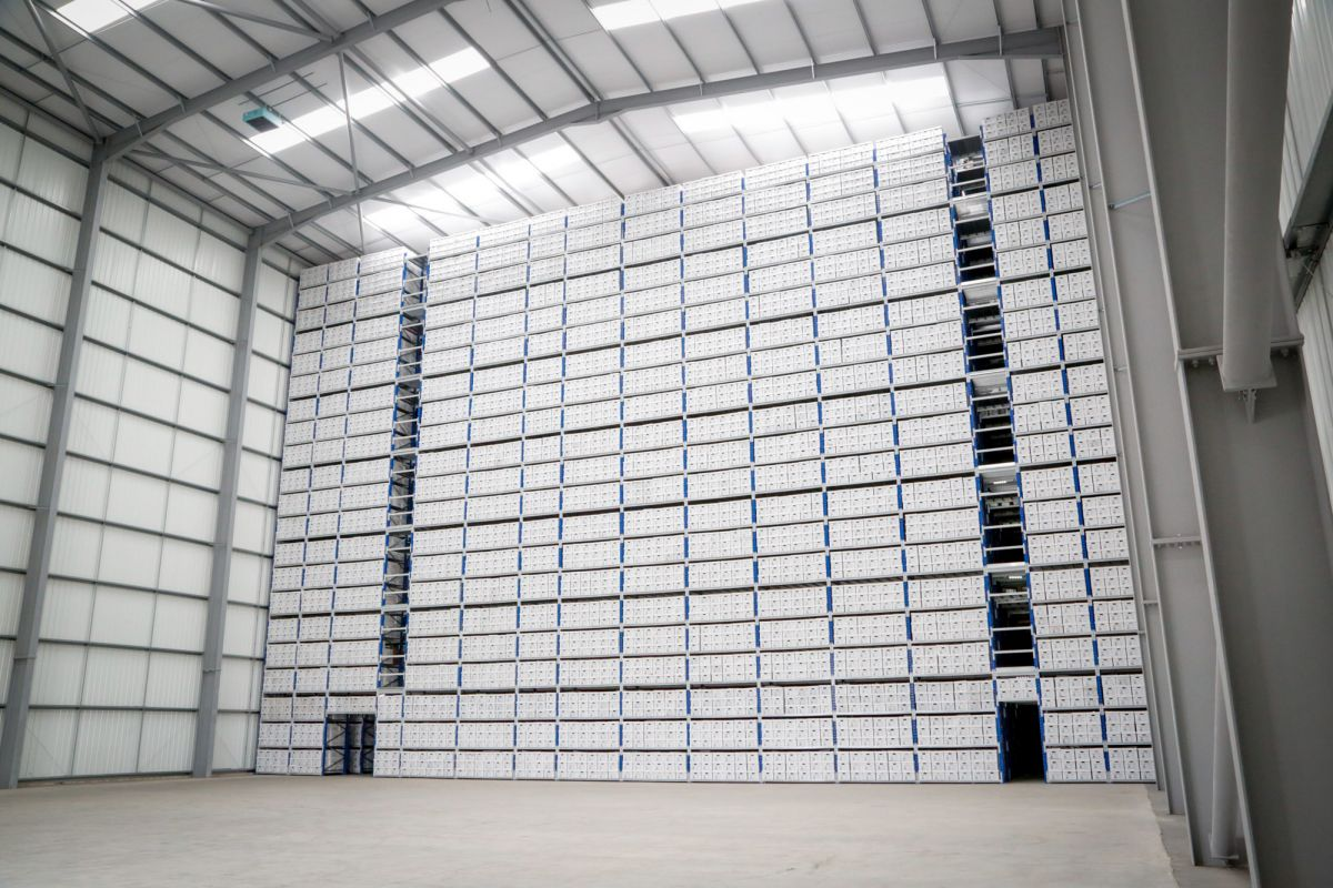 Archive Storage Warehouse