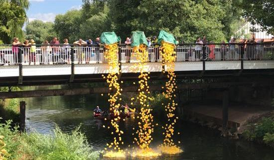 Duck Race Northwich