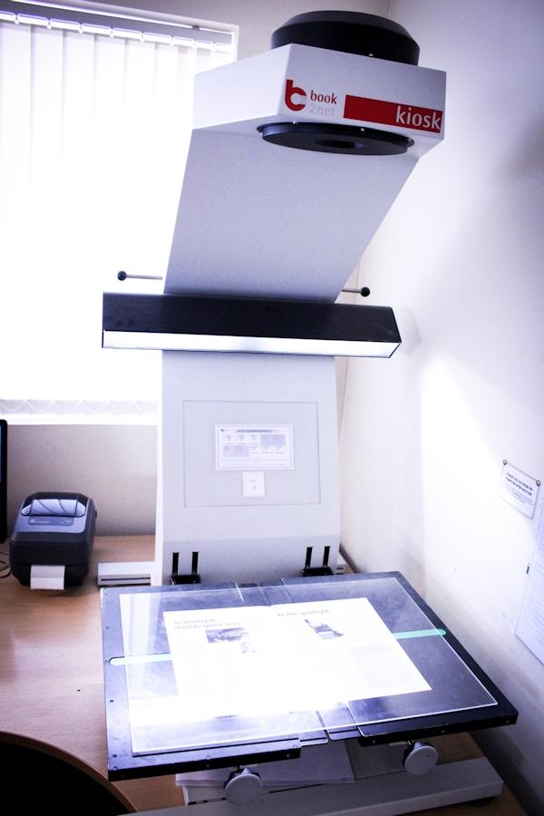 Book2Net Book Scanner