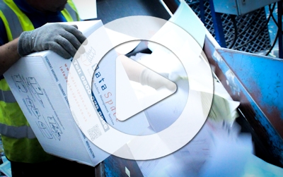 Watch the DataSpace Shredding and Confidential Destruction Process